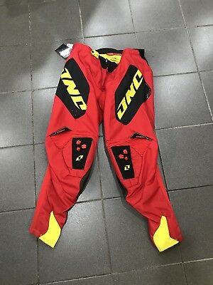 Size 36 One Industries Defcon Red Pant