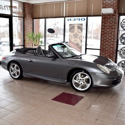 2002 Porsche 911 Carrera 4 Cabriolet 2002 Porsche 911 Carrera 911 4 Cabriolet w/ HARD TOP Turbo Wheels LOW MILES