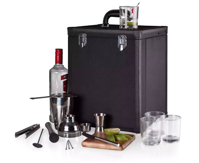 Portable Cocktail Set Home Bartender Kit Traveling Bar Essential Enthusiast All