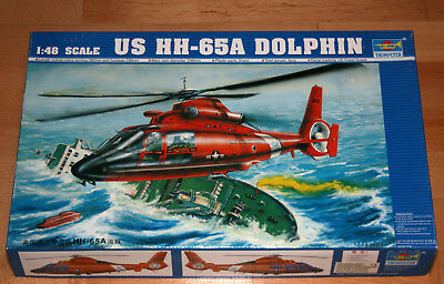 1:48 TRUMPETER 02801 US HH-65A DOLPHIN in OVP TOP