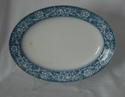 Rare Antique 1913 Johnson Brothers England Henley Blue Platter