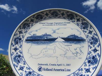 1873-Present Day Holland America Line Grand Voyage Signature Event 2007 Souvenir