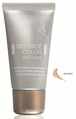 Bionike Defence Color Mat-zone Fondotinta opacizzante n.402 Sable 30ml