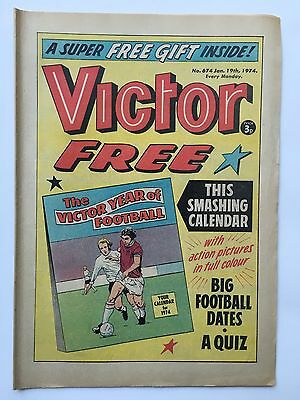 Victor #674 + Free Gift - Jan 19Th 1974
