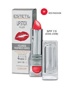 Estetil LipStick Filler 4in1 Colore 08 Red Passion