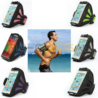 Sports Running Jogging Gym Case Cover Mesh Armband For iPhone 6/6S/6Plus/6SPlus