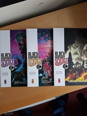 Black Science Volume 1, 2 & 3