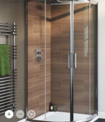CORNER SHOWER Enclosure (Nadina by Cooke & Lewis) 900mm x 900mm x ...