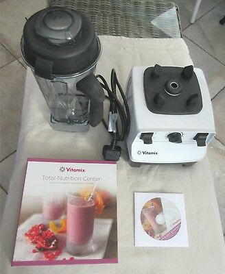 Vitamix Total Nutrition Centre Blender White VM0109, Smoothie, Healthy.