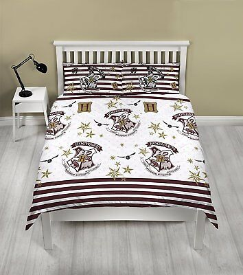 Harry Potter Double Rotary Duvet Cover Bed Set