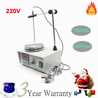 85-2 Heating Hot Plate Hotplate Magnetic Stirrer Mixer Heater Chemical Lab 220V