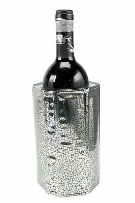 Rapid Ice Wine Cooler - Silver Active Chiller Without Ice Chills in 5 minutes
