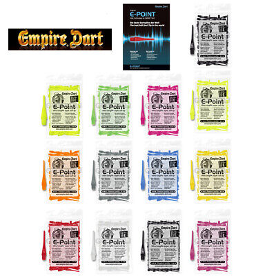 Empire® Dart E-Point Ultra Longlife Dartspitzen 2BA lang Softtips Soft Tips long
