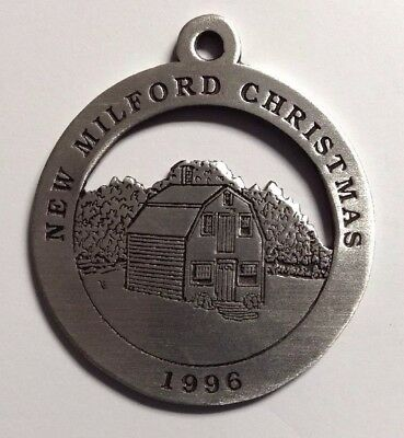 The Boardman Store New Milford Historical Society Pewter Medallion