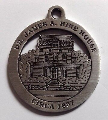 Dr. James A. Hine House New Milford Historical Society Pewter Medallion
