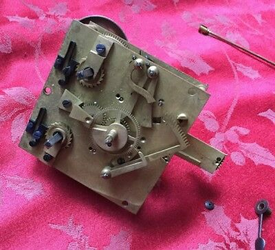 Top Quality Vincenti Bracket Clock Movement Spares Or Repair Hands And Bell