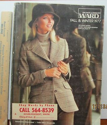1977 Montgomery Ward Fall Winter Catalog