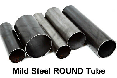 Mild Steel ROUND Tube 76.1mm - 150mm Diameter - 12 Popular Pre Cut Lengths