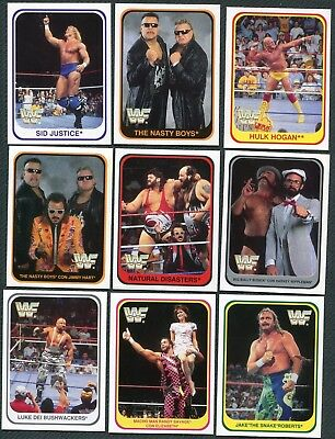 WWE WWF Merlin Trading Cards 1991 deutsch KOMPLETT RAR