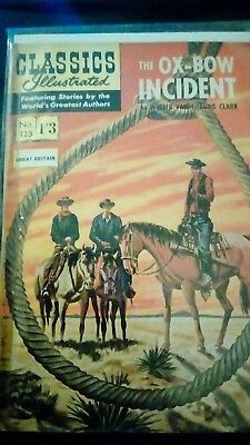 Classics Illustrated no 125....The ox-bow incident