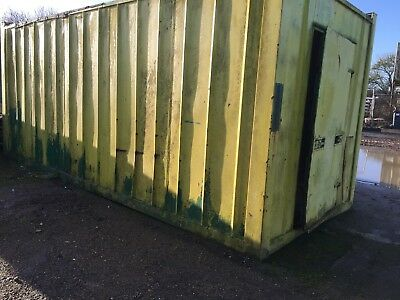 20' shipping storage container