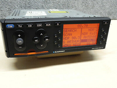 Blaupunkt CD Radio NEW York RDM 127 TOP Pixelfrei Oldtimer Youngtimer