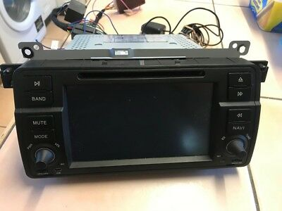 BMW e46 android head unit