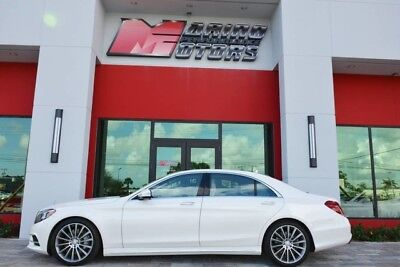 2016 Mercedes-Benz S-Class  2016 S550 - ONLY 1,200 ORIGINAL MILES - $111,710 MSRP NEW - 1 OWNER FLORIDA CAR