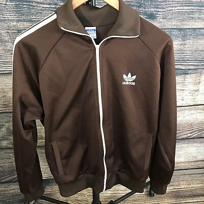 Vintage Adidas Track Jacket Tagged Sz M Fits Smaller Made In Yugoslavia