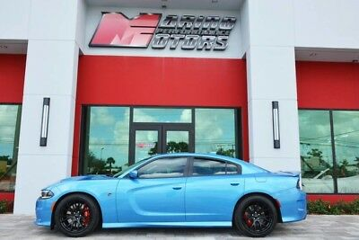 2015 Dodge Charger SRT Hellcat Sedan 4-Door 2015 CHARGER HELLCAT - ONLY 3,400 MILES - RARE  BLUE PEARL - 1 OWNER FLORIDA CAR