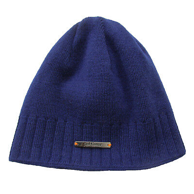 d675493e4 RED CAMEL WOMEN'S Navy Blue Knit Beanie, Reversible to Striped Side One Size