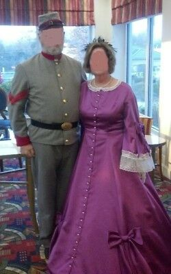 Ladies Civil War era formal dress size 12