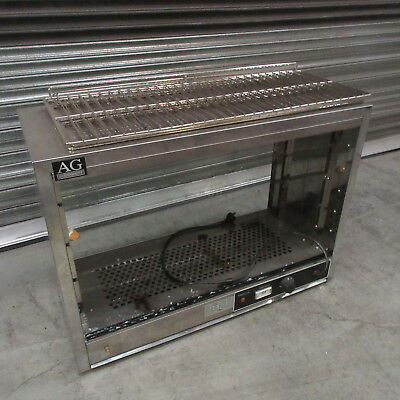2nd hand COMMERCIAL PIE FOOD WARMER DISPLAY CABINET 304 SATINLESS STEEL