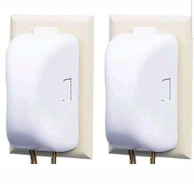 Safety 1st Double Touch Plug & Outlet Cover - 2 Outlet Covers Two Pack 10404