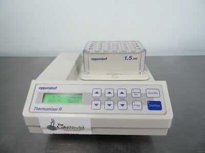 Eppendorf Thermomixer R Heating and Cooling Shaker with Warranty