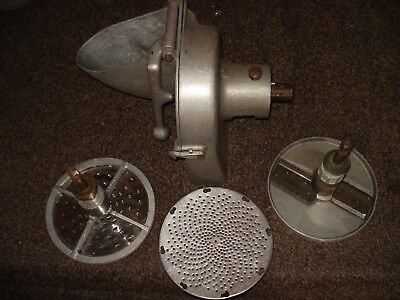 Pelican Head Mixer Slicer w/ Slicer, Disc Holder & Two Shredder Discs