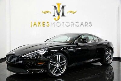 2013 Aston Martin DB9 Coupe 2013 ASTON MARTIN DB9 COUPE, ONLY 10K MILES! JET BLACK ON CHESTNUT