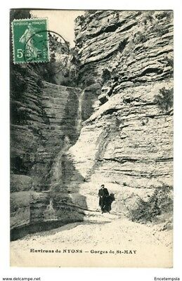 CPA - Carte postale -FRANCE-Drôme - Nyons - Gorges de Saint May - 1916 (CP288)