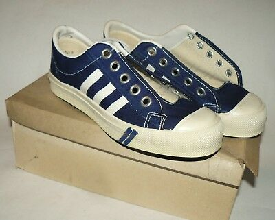 50s vtg NOS Astro Canvas Sneakers classic gym shoe Made In USA 3.5