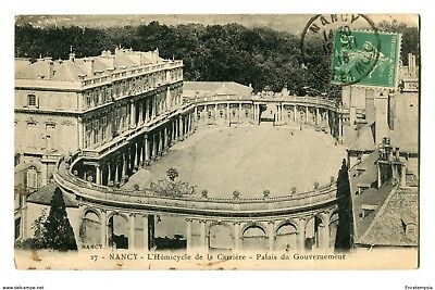 CPA-Carte postale-France-Nancy-L'hémicycle de la Carrière-Palais du gouvernement