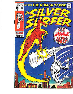 The Silver Surfer #15 (Apr 1970, Marvel)