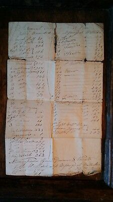 1833 Battle Of Waterloo Casualty List & Application For Post Of Barrack Sergeant
