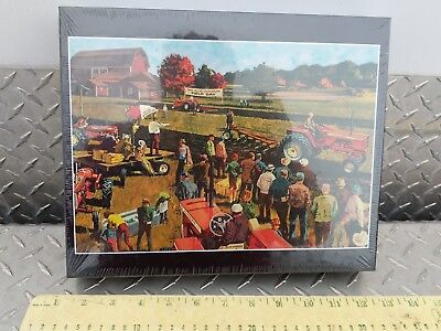 Allis chalmers field day d21 TRACTORS 513 pc Putt-Putt Puzzles AGCO SEALED htf