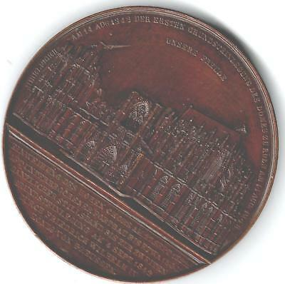 1851 Belgium Medal for Cologne Cathedral Restoration, by Jacques Wiener