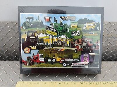 White heritage TRACTORS 513 pc Putt-Putt Puzzles AGCO SEALED Oliver licensed htf