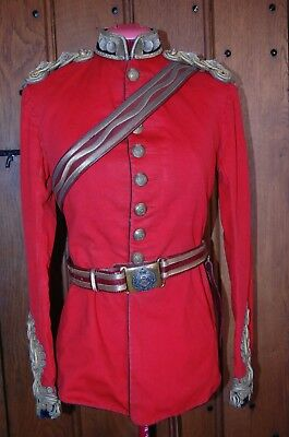 Royal Engineers Victorian Officers Captains Full Dress Tunic