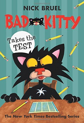 Bruel Nick-Bad Kitty Takes The Test  (US IMPORT)  HBOOK NEW