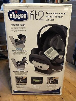 Chicco Fit2 Rear-Facing Infant & Toddler Car Seat - Legato - Birth to 24 Months