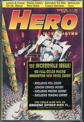 HERO Illustrated July 1993 Collector's Edition Magazine w/ FOIL Cover NEW SEALED