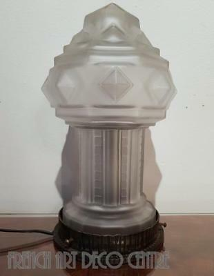 Genet et Michon French Art Deco table Lamp c1925